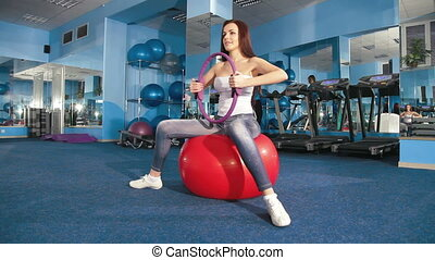 Exercising At The Gym