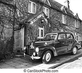Vintage Car - Old clasic car