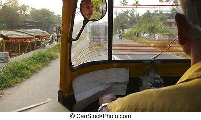 Trip with rickshaw