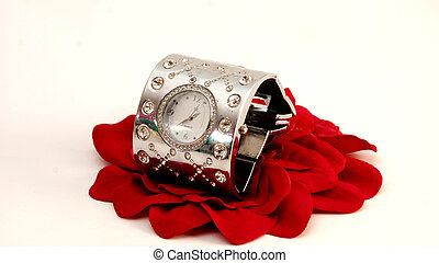 Woman fashion wrist watch