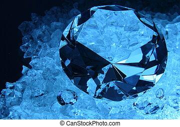 Raw Diamond - Raw to perfect crafted diamond