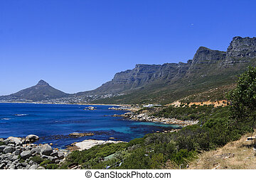 Twelve Apostles, Cape Town - Twelve Apostles and Lions head,...