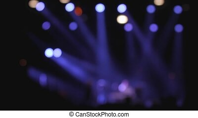 Concert out of focus