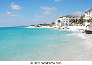 Playa Del Carmen - Beauitiful beach at Playa Del Carmen.