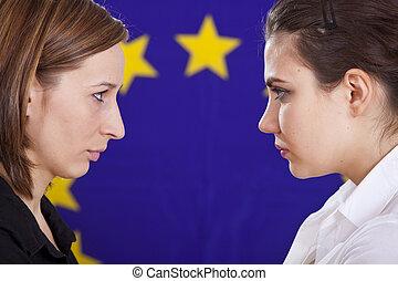 conflict in european politics
