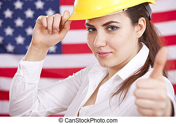thumb up for american economy