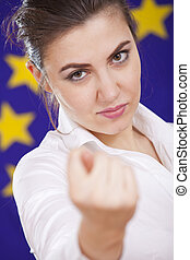 fig gesture from european union