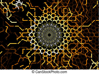 Arabic abstract background