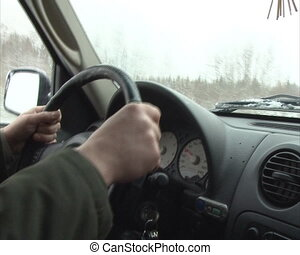 driver hand steer wheel - driver hands steering wheel car...
