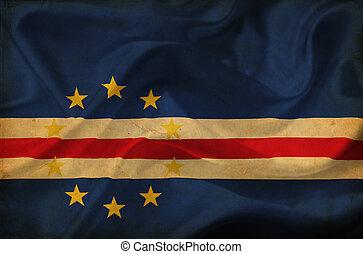 Cape Verde flag - Cape Verde waving flag