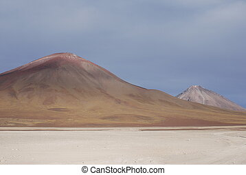 mountains in the Altiplano
