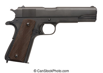 Unissued Military Pistol 1911A1 - An unissued American-made...