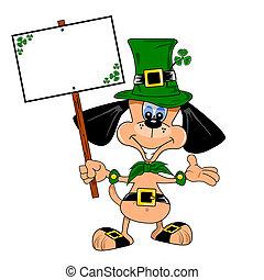 St Patrick's day cartoon