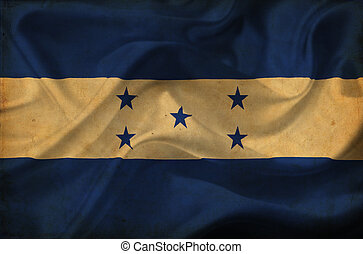 Honduras waving flag