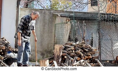 lumberjack - Timber Worker Lumberjack with Axe