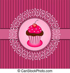 Cupcake vintage