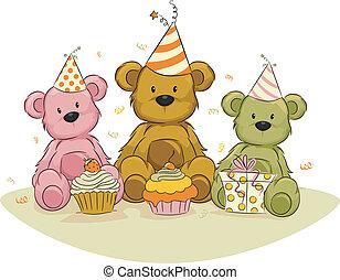 Urodziny, Niedźwiedź