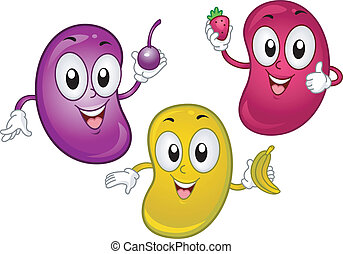 Clip Art Jelly Bean Clip Art jellybean clip art and stock illustrations 148 eps smiling clipartby cthoman2599 mascot illustration of mascots holding