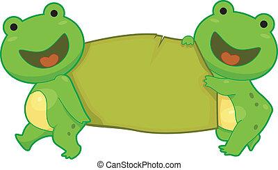 Frog Banner