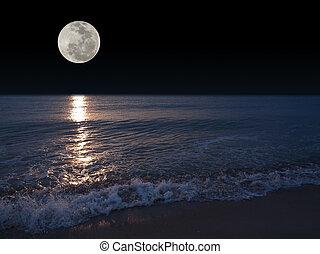 充分, 月亮