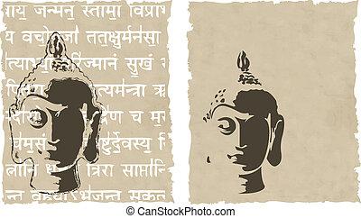 the vector buddha