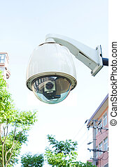 Security camera (Clipping path!)