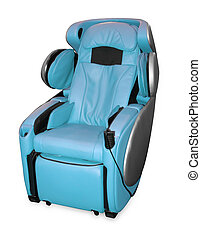 leather shiatsu massage chair.