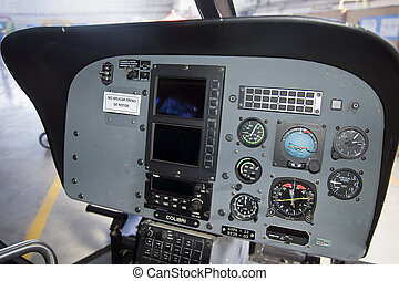 Cockpit of an Eurocopter E120