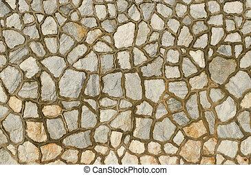 decorate granite stone wall