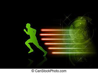 shining runner