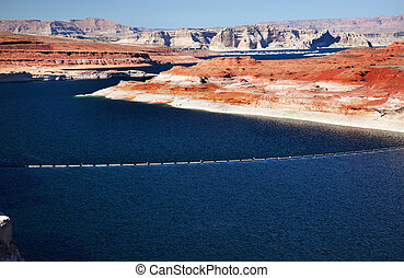 Lake Powell Glen Canyon Dam Arizona