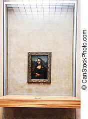 mona lisa portrait - mona lisa art portrait of leonardo da...