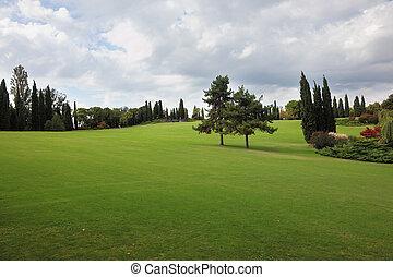 A field in a park-garden Sigurta