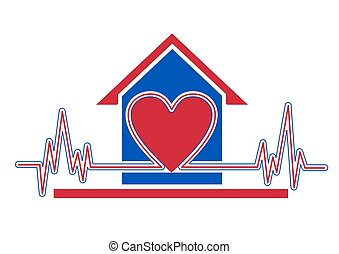 Home health care - An illustration of home health care icon