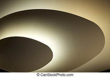 Outer Space Rings - Light and shadows that resemble rings,...