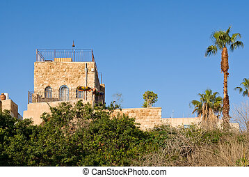 Old house in Yaffo, Israel