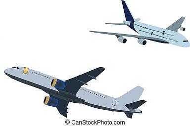 aircraft - passenger planes
