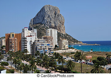 Calpe and the Penon de Ifach - Mediterranean Resort Calpe,...