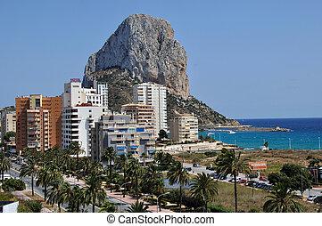 Calpe and the Penon de Ifach - Mediterranean Resort Calpe,...
