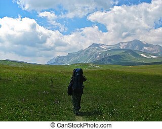 Active recreation and tourism in the mountains of the Caucasus