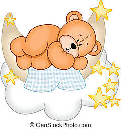 Sweet Dreams Teddy Bear - Image representing a sweet dreams...