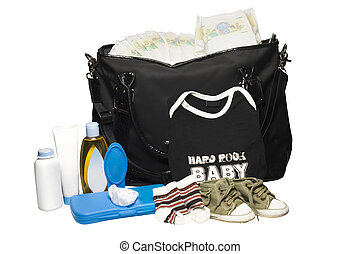 Diaper Bag and Clothes