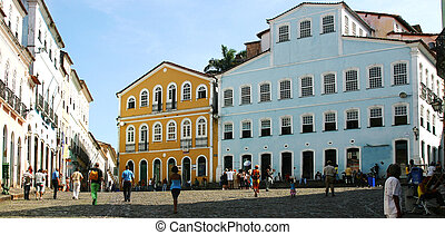 Praca Jose de Alencar Salvador - the square Jose de Alencar,...
