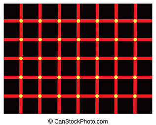 Color optical illusion - Optical illusion about changing...
