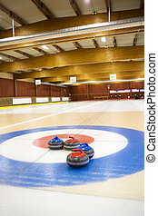 Curling Arena - view from a Curling Arena