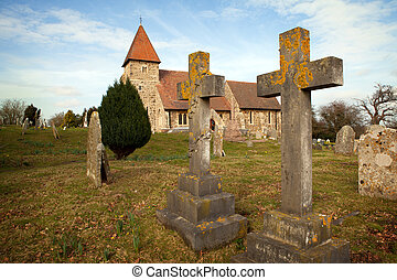 Grave graveyard Church England medieval