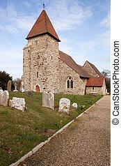 Church grave graveyard England medieval