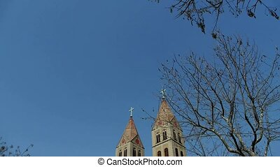 Panoramic of Catholic Church - Panoramic of Qingdao Catholic...
