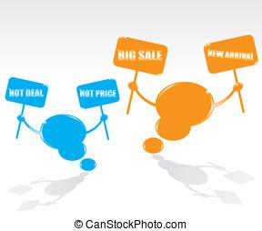 Bubble speech sale