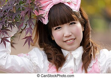 japanese cosplay girl - japanese girl in lolita cosplay...